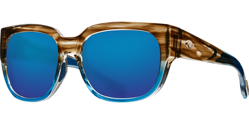 Costa | Waterwoman Sunglasses | Shiny Wahoo- Blur Mirror 580G Lens