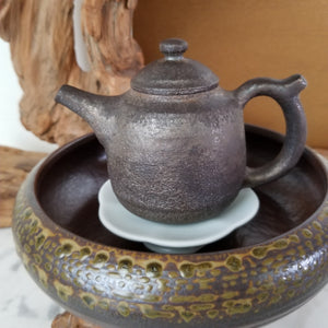 Teapot Pedestal for an Instant Tea Tray