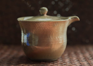 Wood-Fired Gaiwan with Spout and Strainer Lid, 140ml