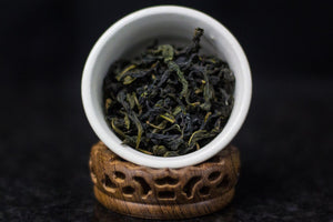 Farmer Chang's Green Oolong (Baozhong), $13.99/2oz.