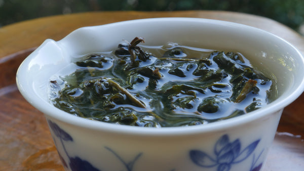 Charcoal Roasted Yushan High Mountain Oolong