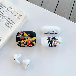 OFF-WHITE KAWS AIRPODS PRO CASES