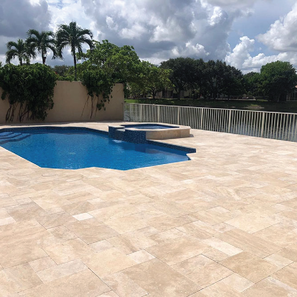 StoneHardscapes Ivory/Natural Travertine