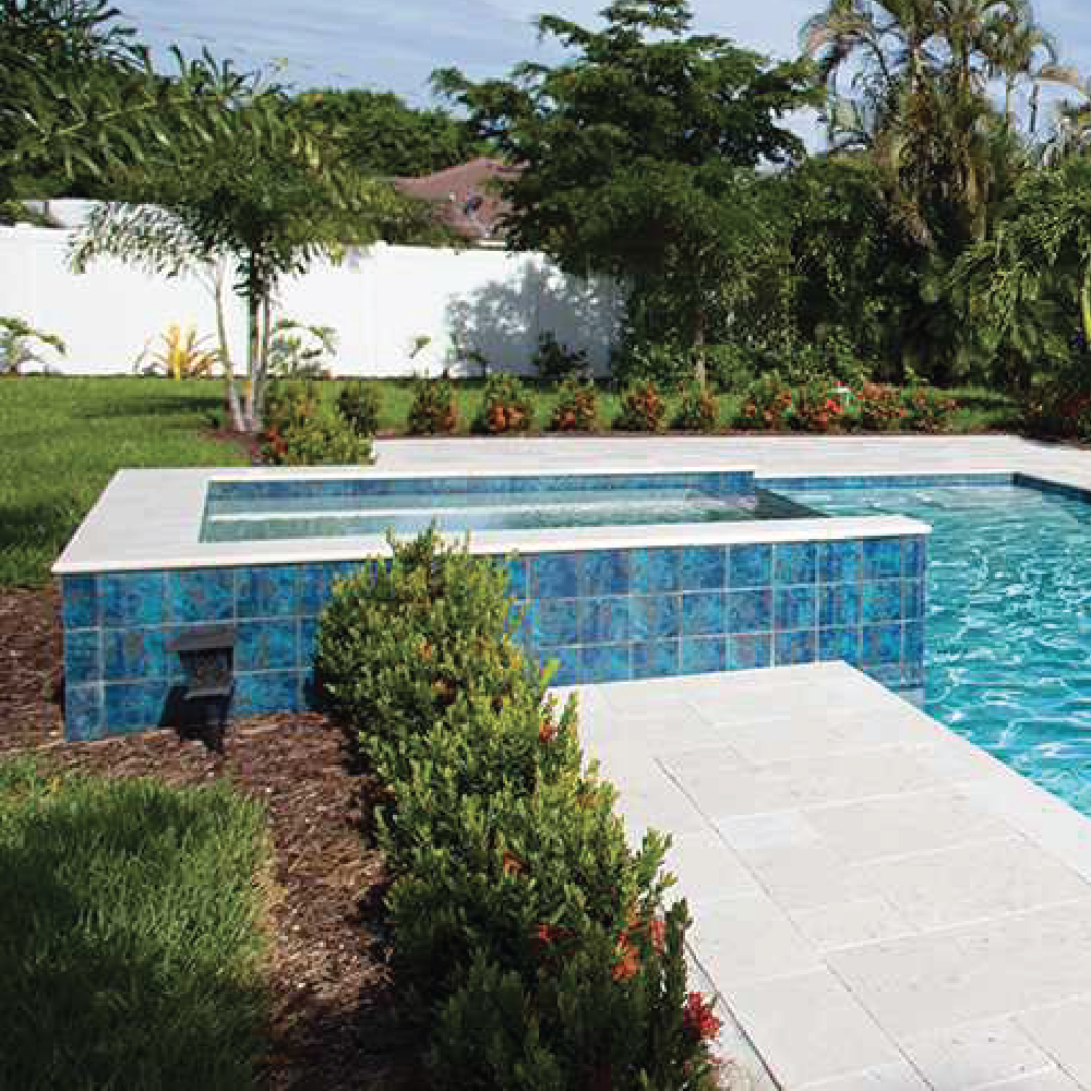 NPT Verona Stone Look Pool Tile