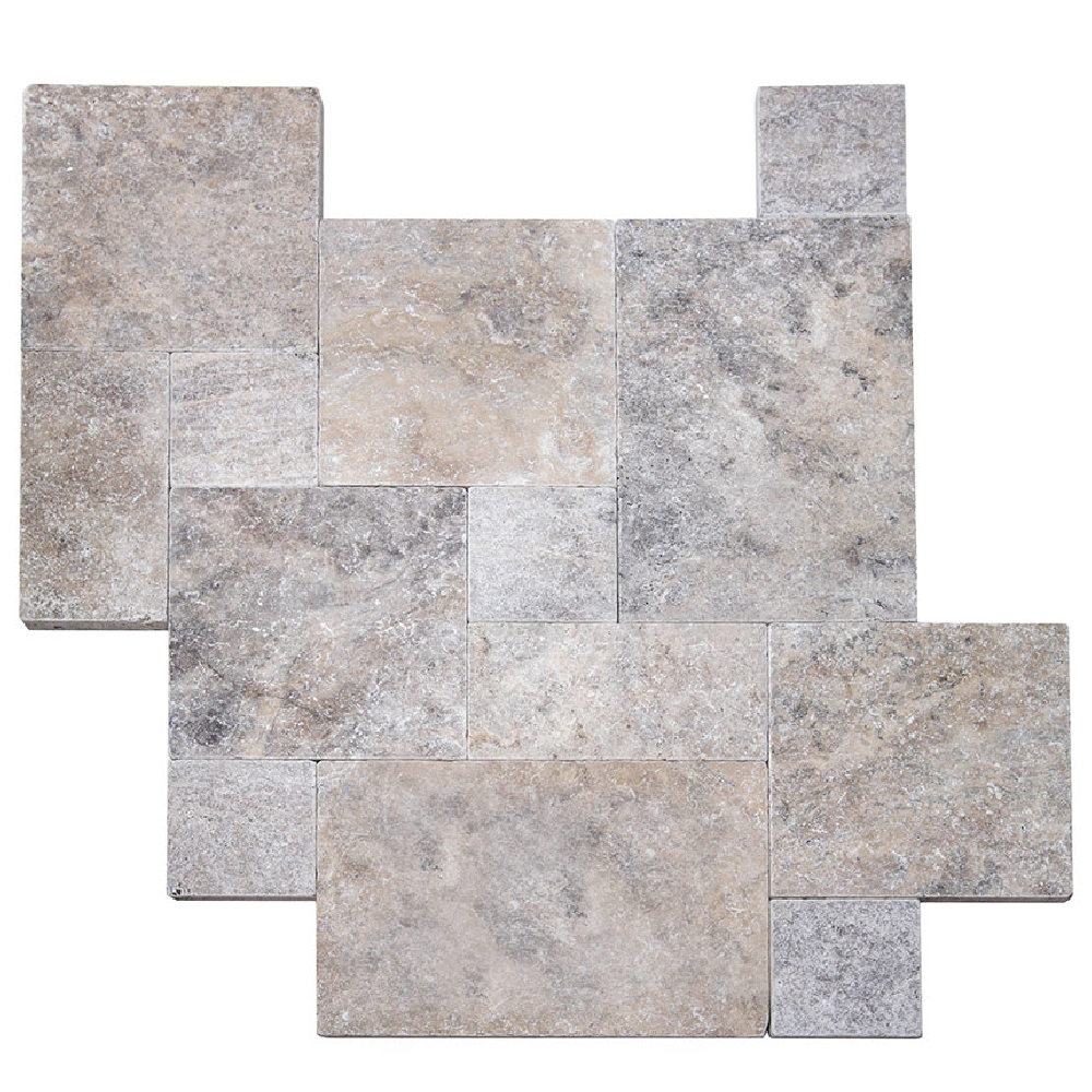 StoneHardscapes Silver Travertine