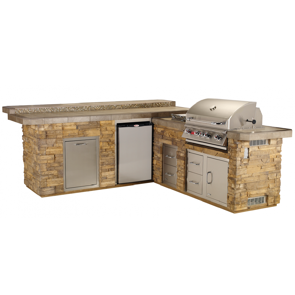 BULL Gourmet Q with Raised Bar