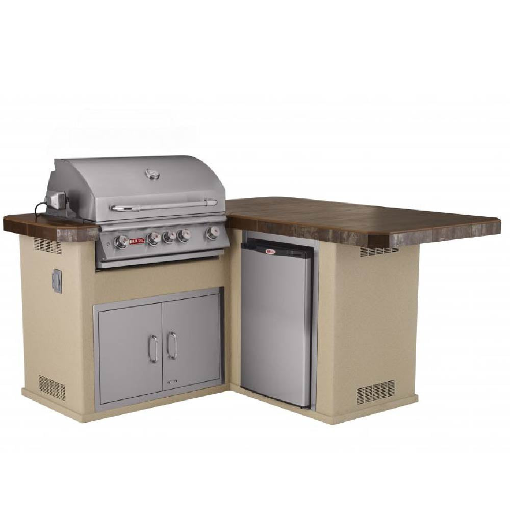 BULL Little Q Outdoor Island Kitchen