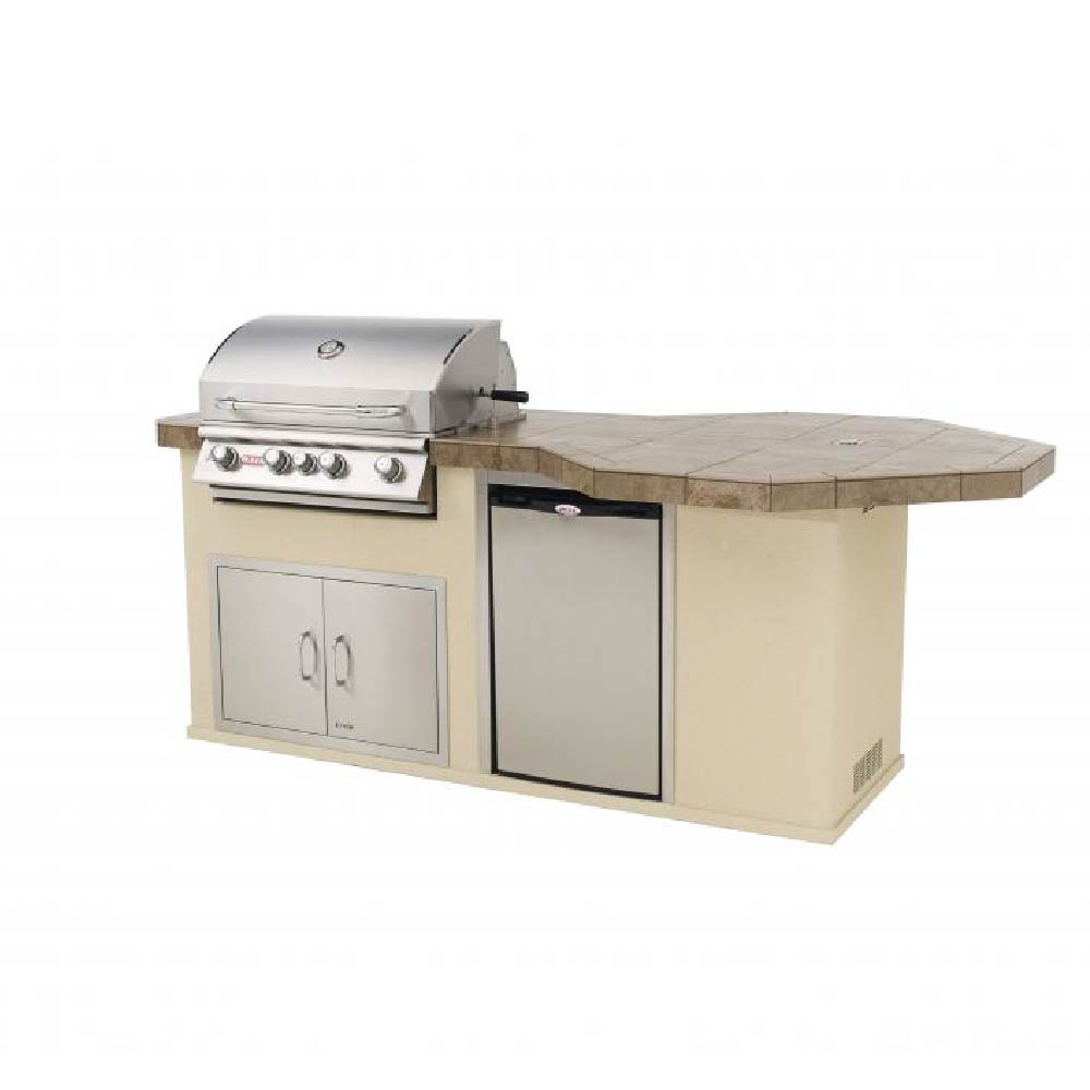 BULL Octi Q Outdoor Island Kitchen
