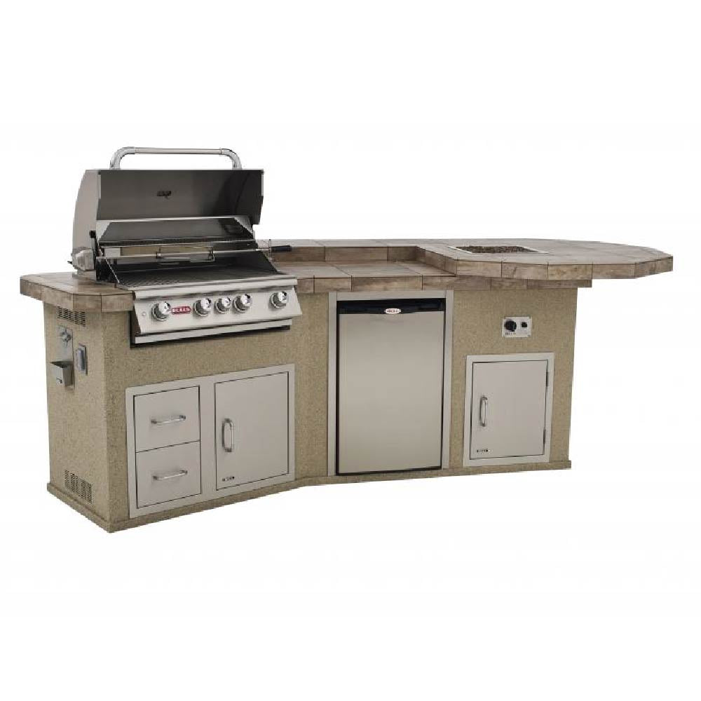 BULL Western Q Outdoor Island Kitchen