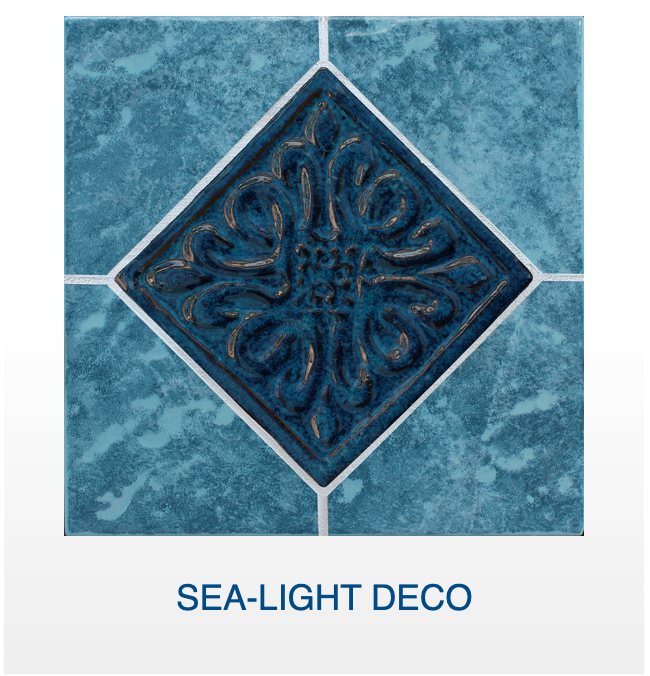 NPT Blue Seas Glossy Pool Tile
