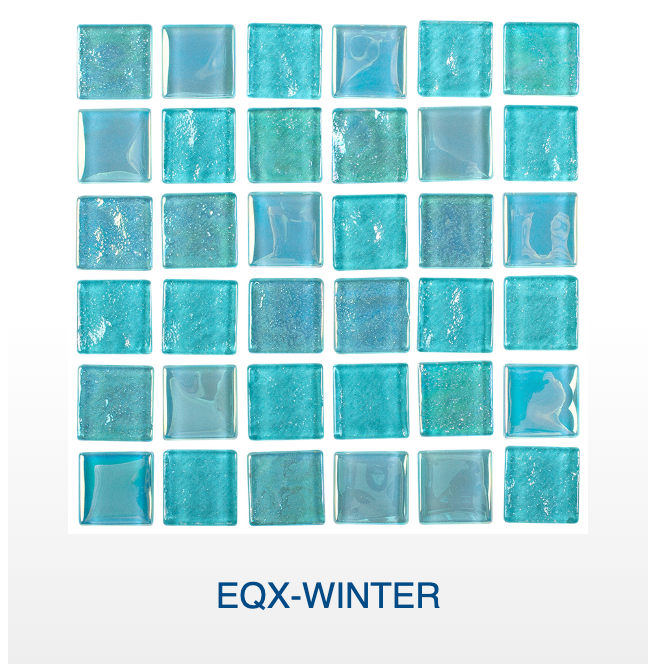 NPT Equinox Glass Pool Tile