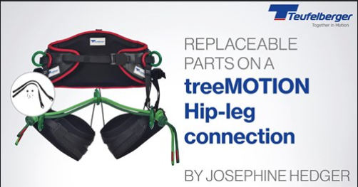 Tips On How To Replace Your tree MOTION Harness Spare Parts- Hip-Leg Connection Version