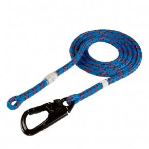 Yale Blue Moon Lanyard Rope 11.7MM,5m length with ISC Triple Action Snap Carabiner - treestore.io