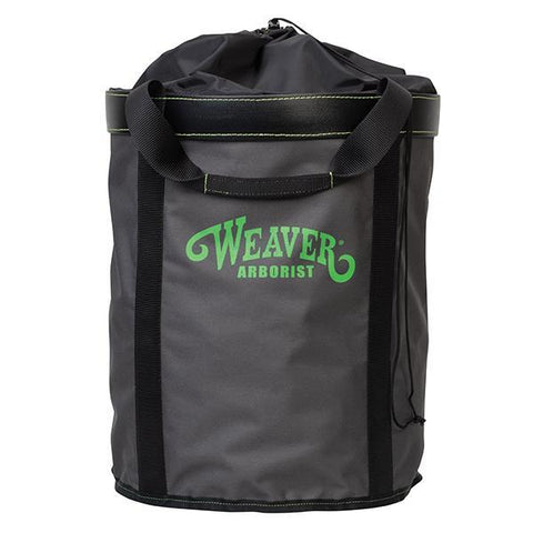 Weaver Extra Large Rope Bag, Charcoal/ Green - treestore.io