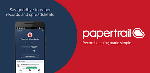 PaperTrail (3 User & 750 records) p.a - treestore.io