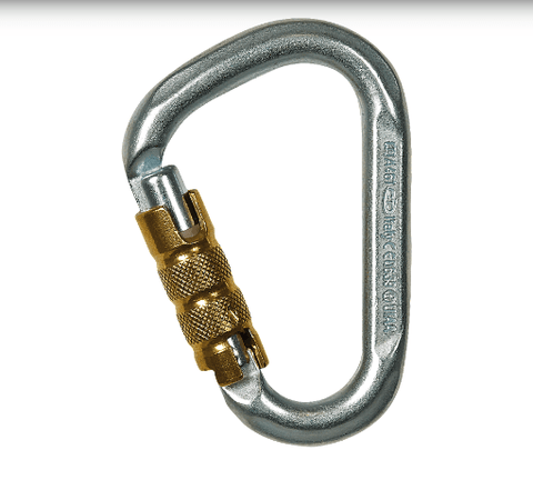 Climbing Technology Snappy Steel TG 40kN Carabiner - treestore.io