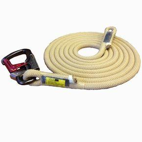 Rope Logic TriTech FlipLine Lanyard replacement rope with ISC Snap - 15' Length - treestore.io