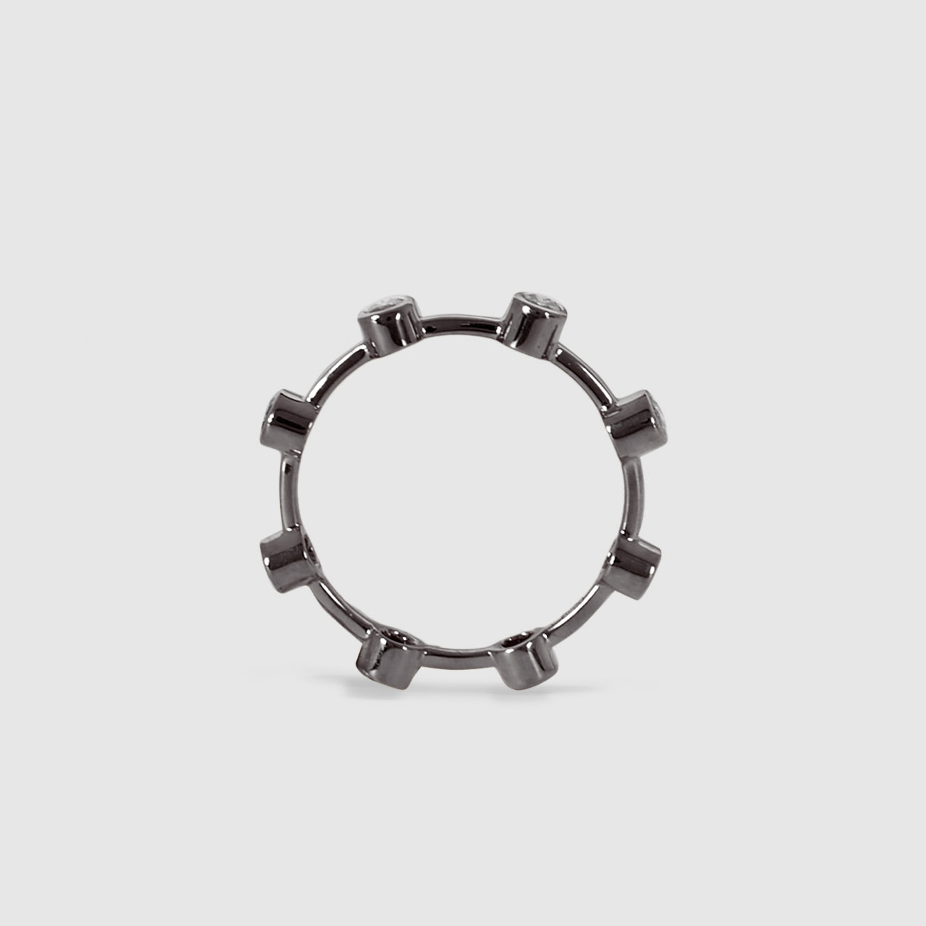 Grey Pepper Ring