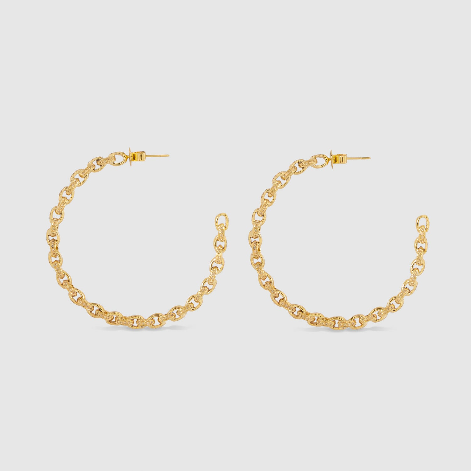 Lemon Chain II Hoops