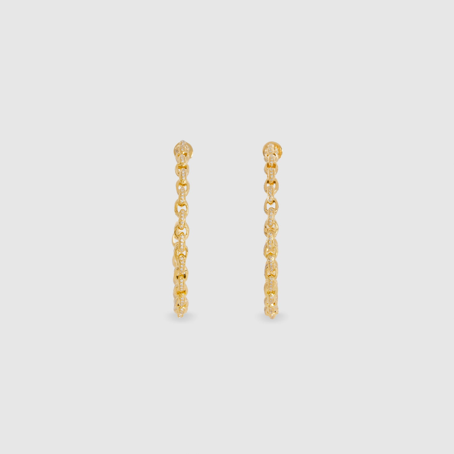 Diamond Chain II Hoops