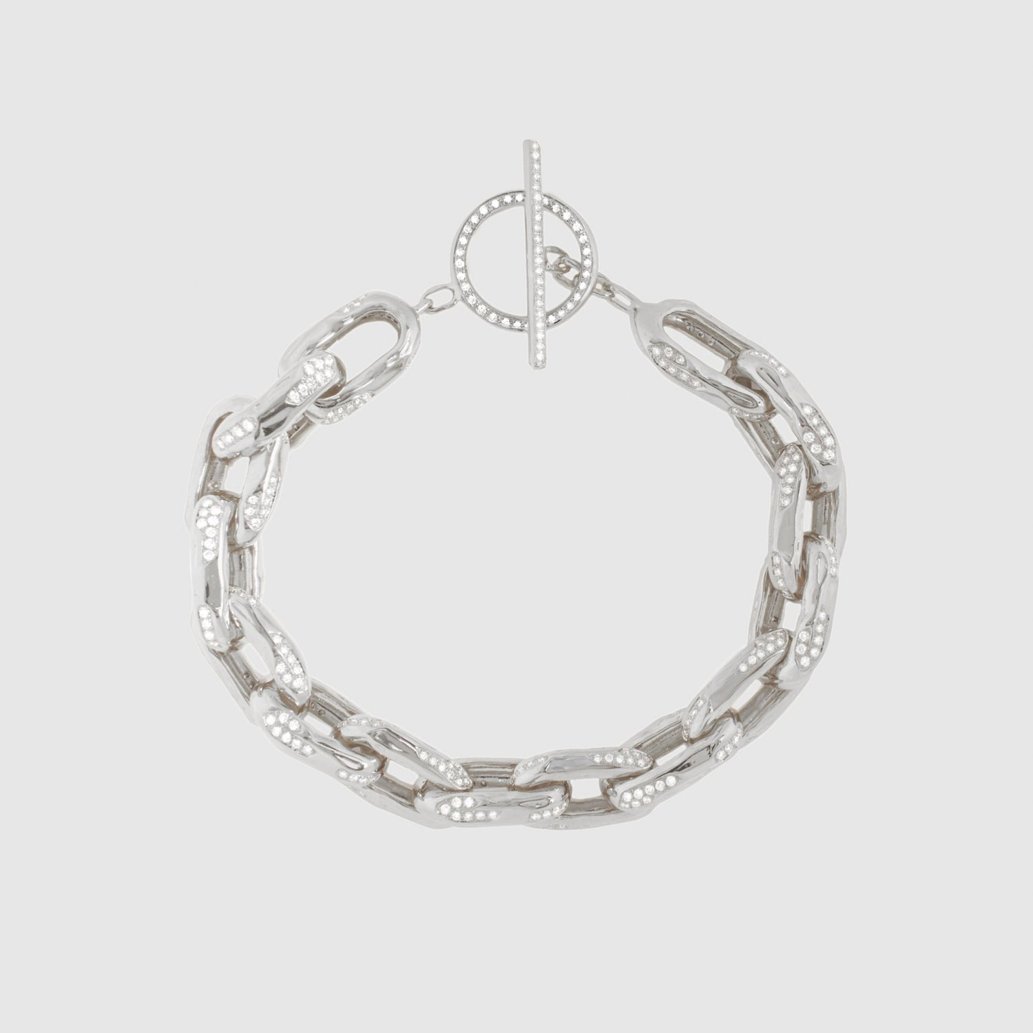 Diamond Row 10 Bracelet