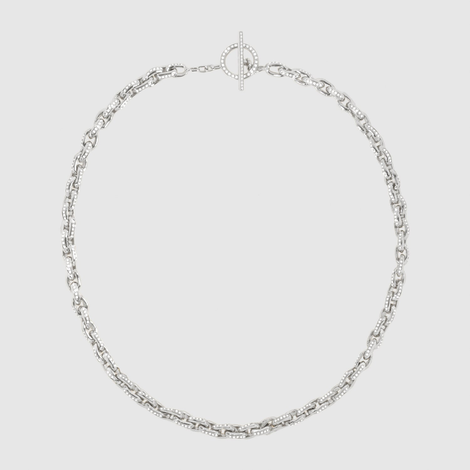 Diamond Row 5 Necklace
