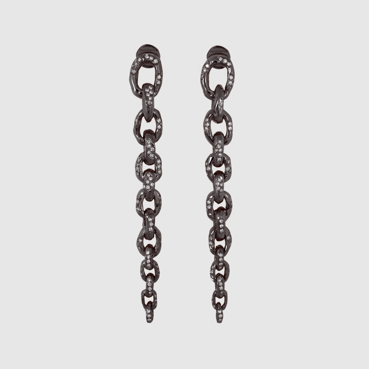 Diamond Edges Earrings