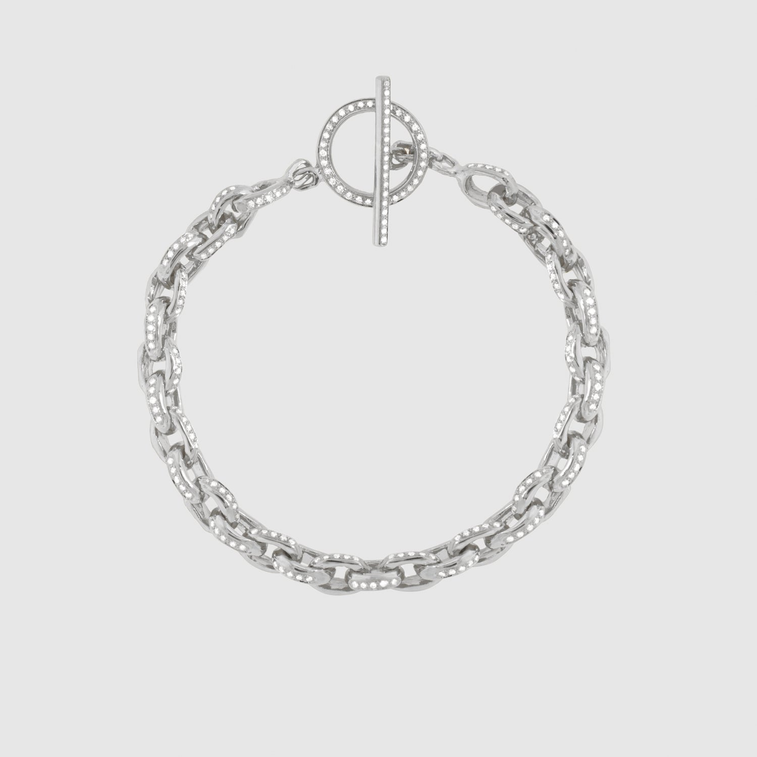 Diamond Row 5 Bracelet