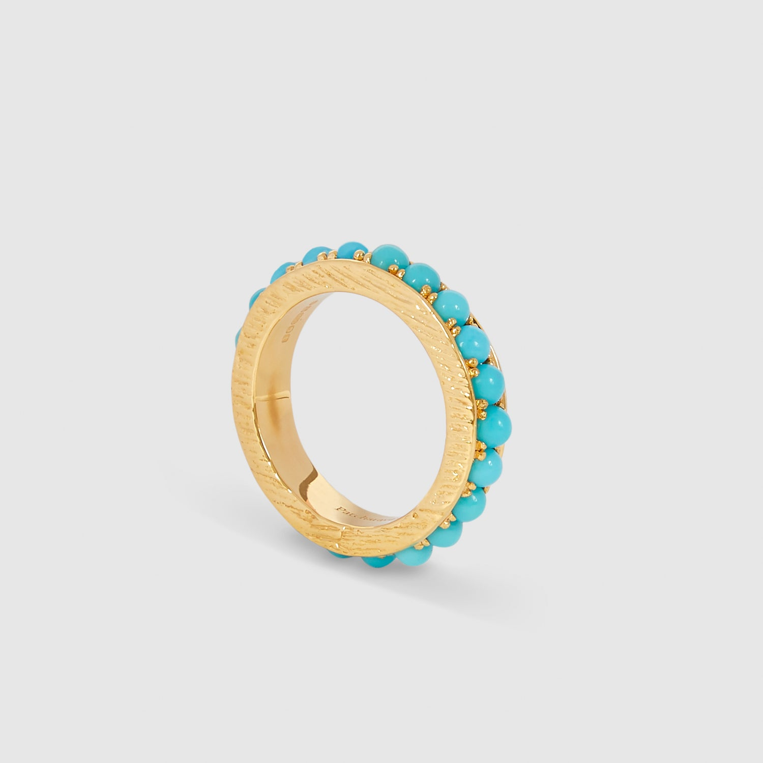 Blue Round II Ring