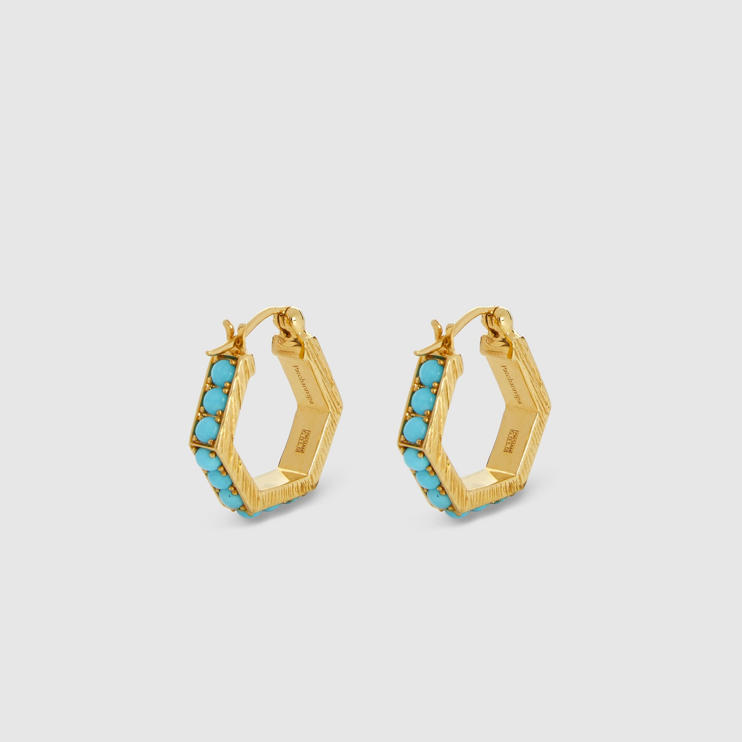 Blue Hexagon I Hoops
