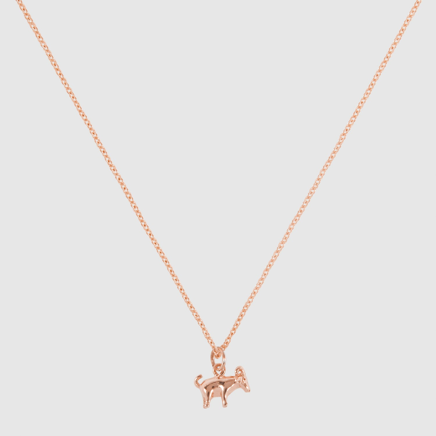 Tiny Goat Necklace