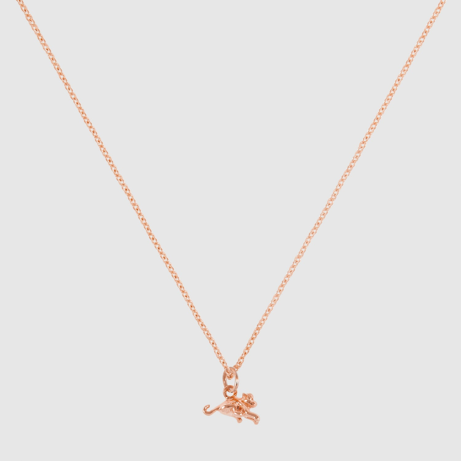 Tiny Monkey Necklace