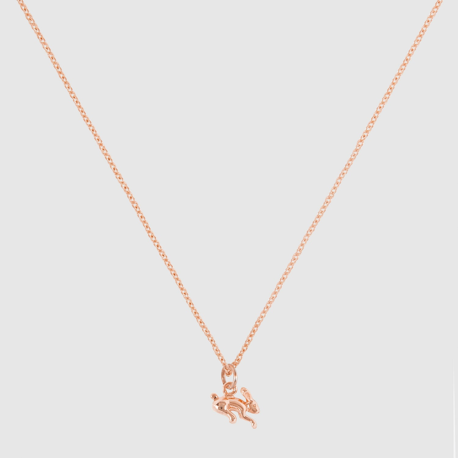Tiny Rabbit Necklace