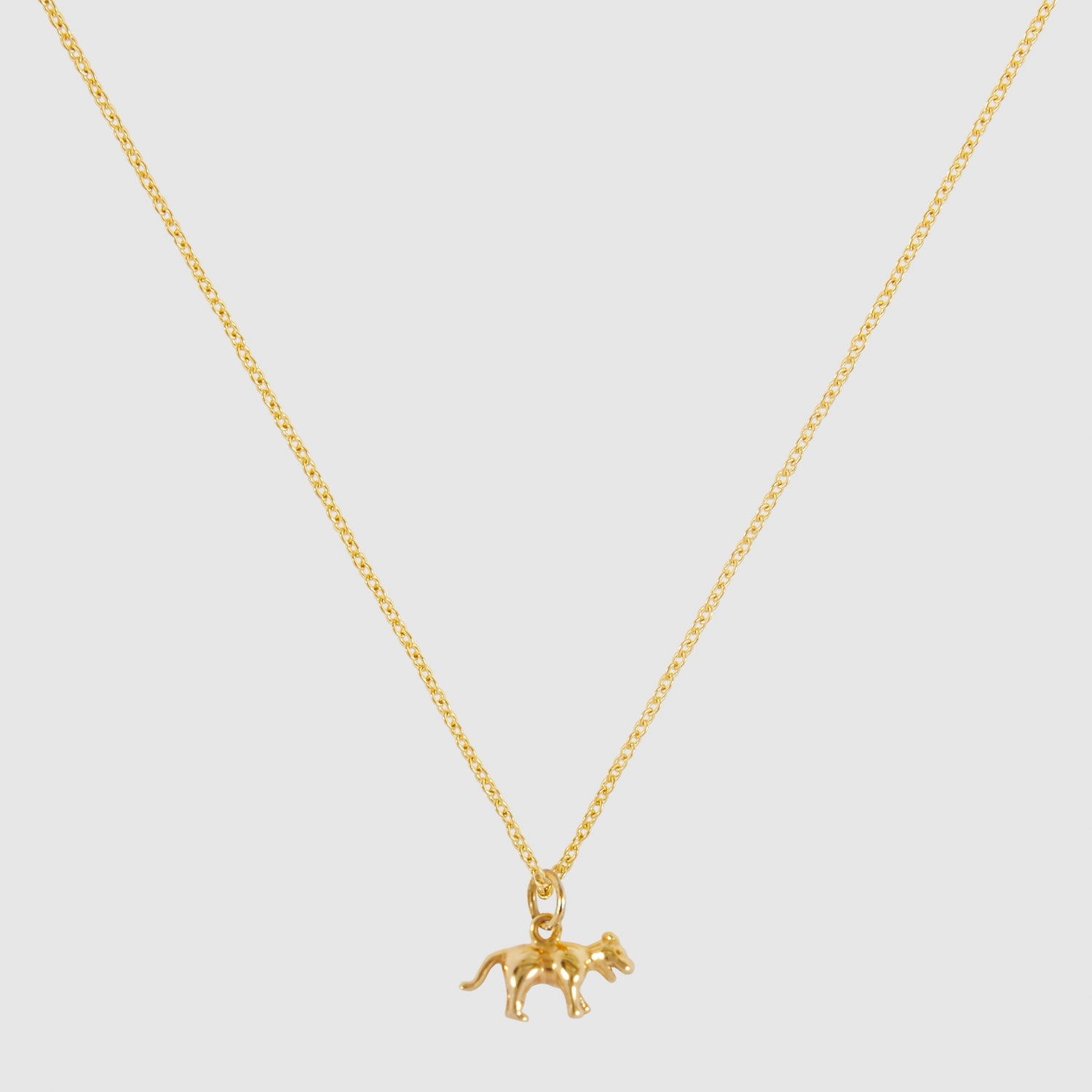 Tiny Tiger Necklace