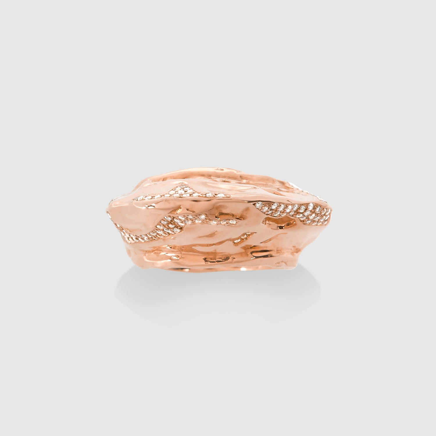 Diamond Boldi Tushroom Ring