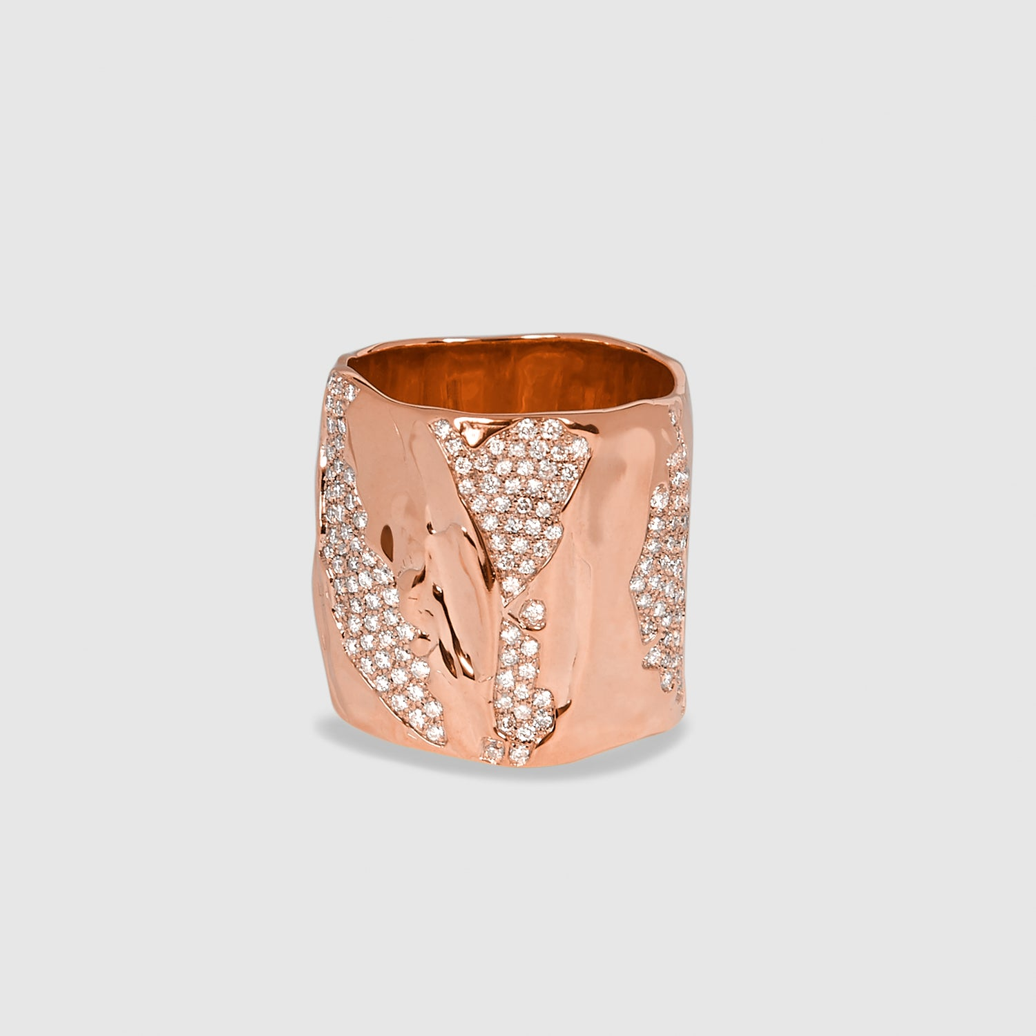 Diamond Classic Fingercon Ring