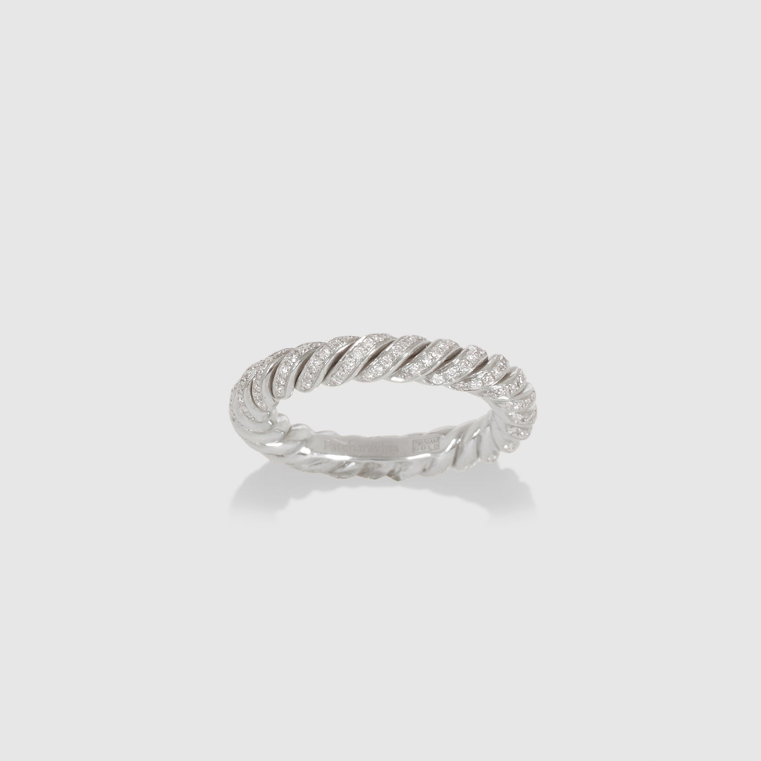 Diamond Rope Ring