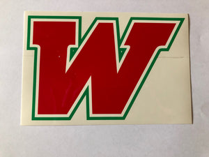TWHS Car Decal
