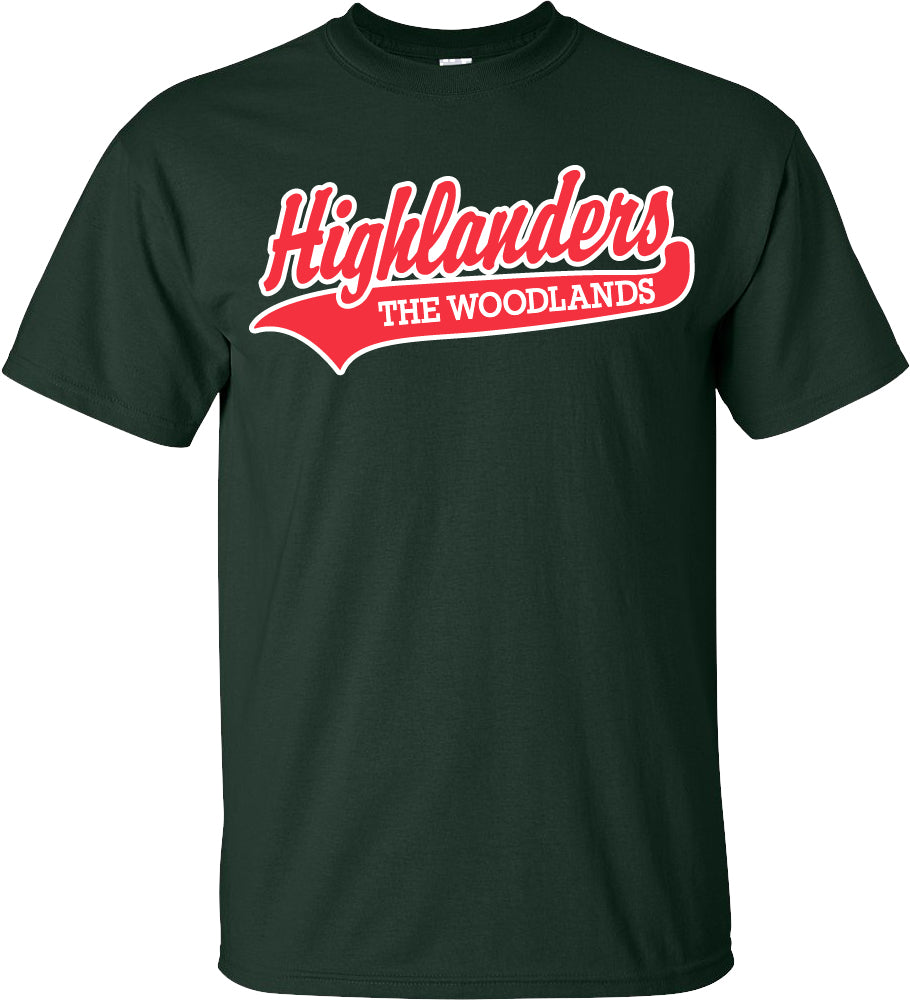 TWHS Highlander Short Sleeve Green