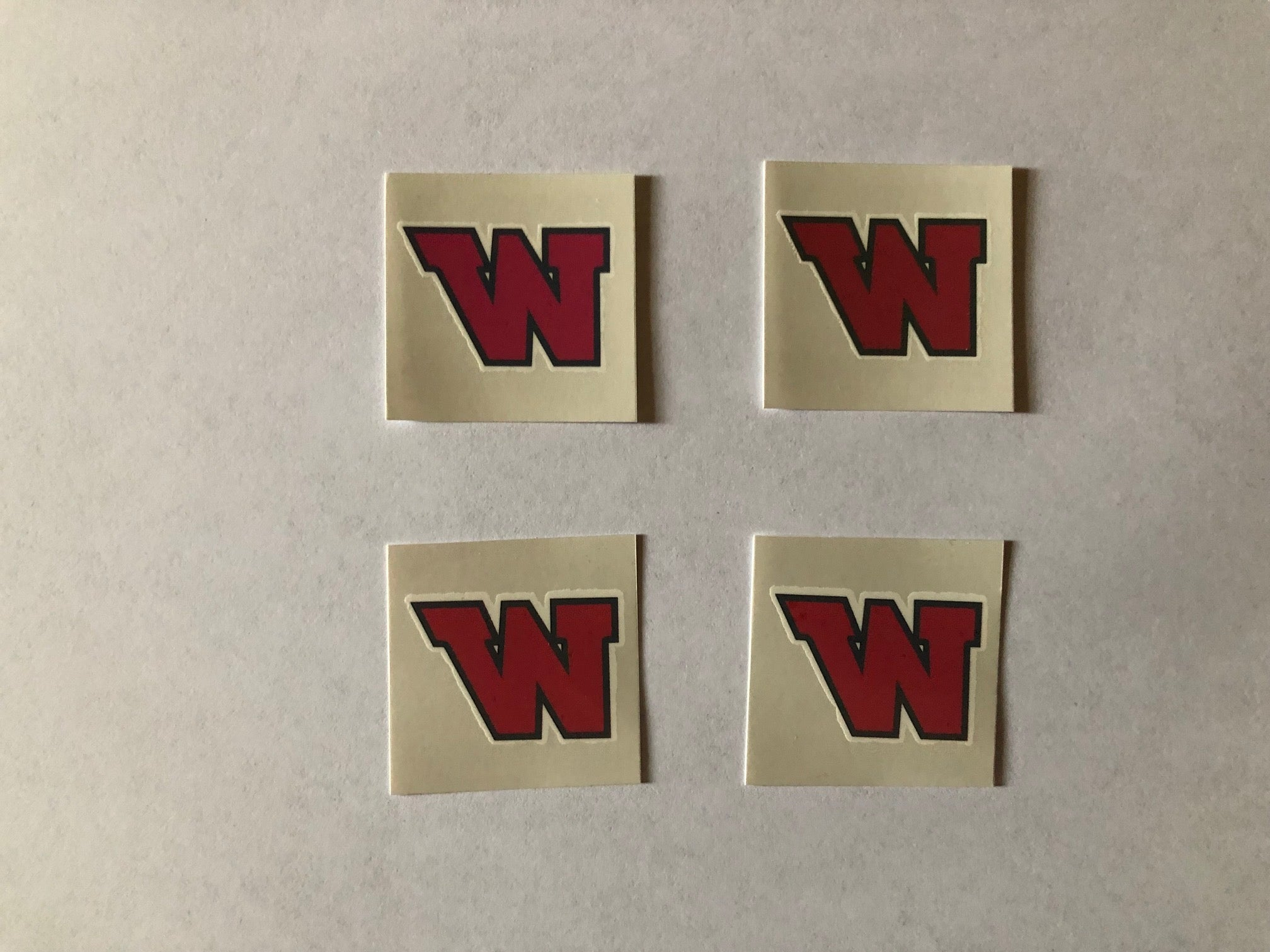 TWHS Tattoo's (set of 4)