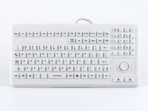 GETT INDUPROOF SILICONE KEYBOARD WITH INTEGRATED MOUSE BUTTON - DSI Depot