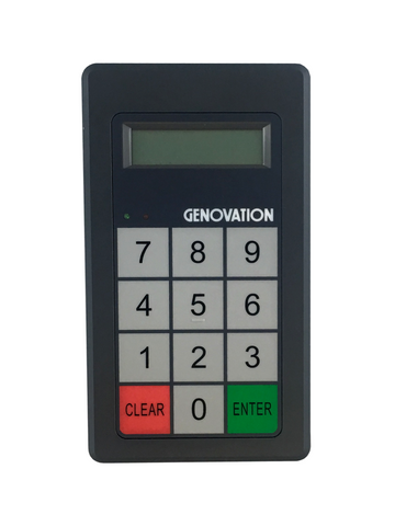 Genovation MiniTerm 908 12-Key Membrane 2-Line Display - DSI Depot