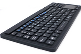 Waterproof IP68 Silicone USB Keyboard with Touchpad IKB107 - DSI Depot