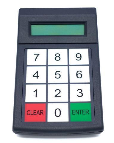 Programmable 12-Key Membrane Keypad - Genovation MiniTerm 904-RJ - DSI Depot