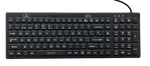 Spanish Layout Industrial Silicone Full Size Backlit Keyboard - IKB106BL-S with IP68 - DSI Depot