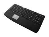 Waterproof IP67 Silicone Wireless RF Keyboard with Number pad and Touchpad KB-JH-WKB810 - DSI Depot