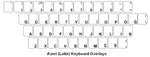 Azeri (Latin) Keyboard Labels - DSI Depot