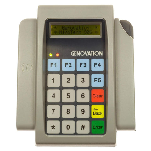 Genovation MiniTerm 906 20-Key Membrane Number Key Pad - DSI Depot