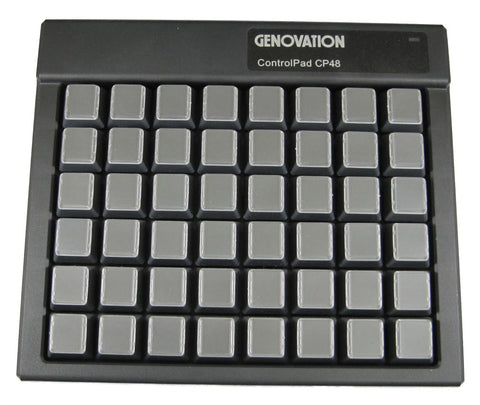 Genovation ControlPad CP48 USB Virtual Serial - DSI Depot