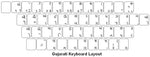 Gujarati Keyboard Labels - DSI Depot